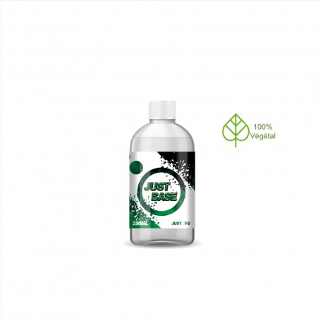 BASE 250ml 0 mg | JUST VAPE
