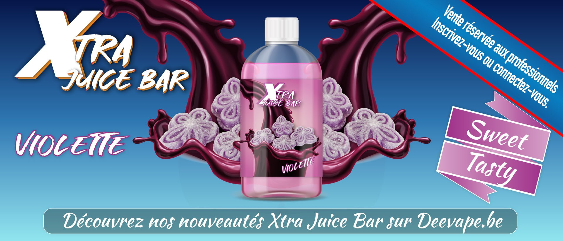 XTRA JUICE BAR - VIOLETTE